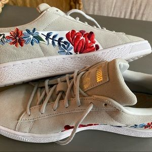 Puma Suede Hyper Embellished Sneakers Casual
